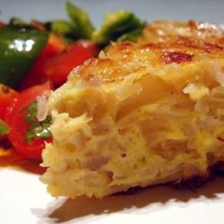 Tortilla Española sin Voltear.